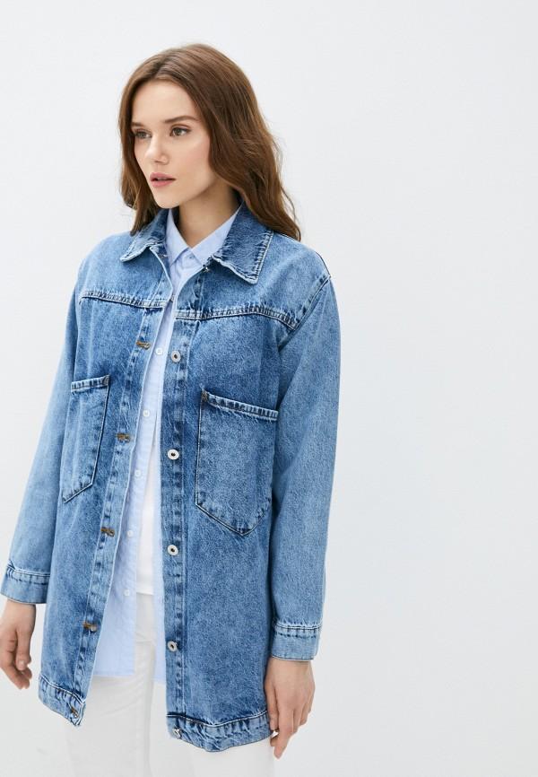 Куртка джинсовая Grafinia синего цвета