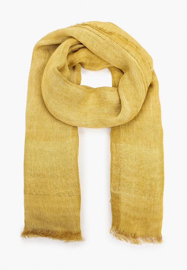 женский платок модные истории, желтый