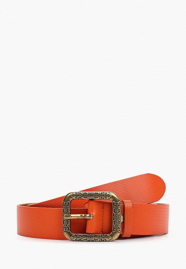 женский ремень модные истории, оранжевый