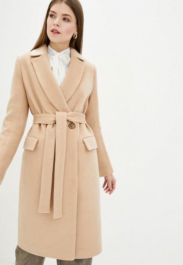 женское пальто danna, бежевое