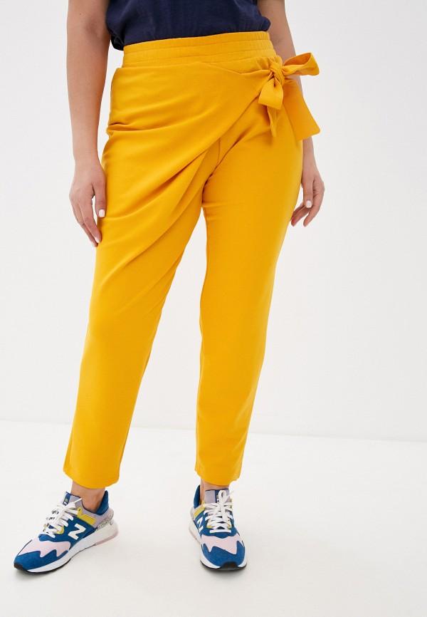 женские повседневные брюки lamuro, оранжевые