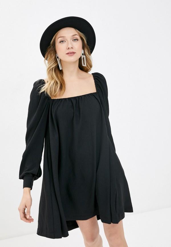 женское платье-комбинация top top, серебряное