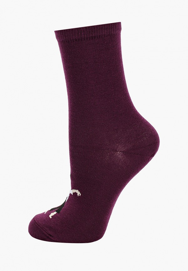 женские носки mark formelle, бордовые