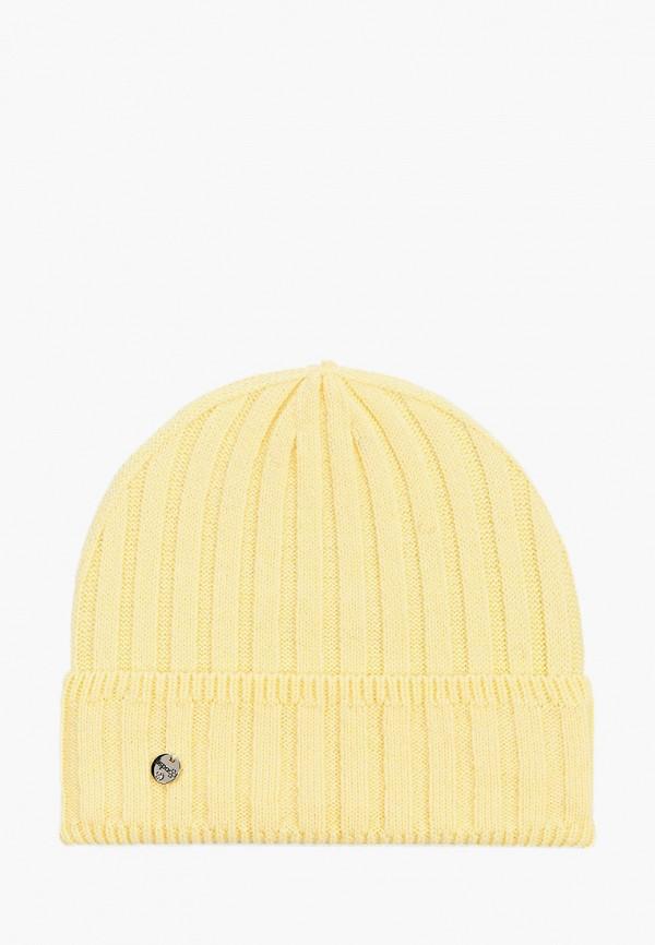 женская шапка dispacci, желтая