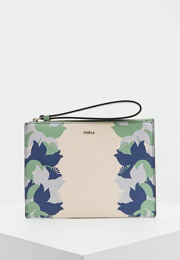 женский кошелёк furla, разноцветный