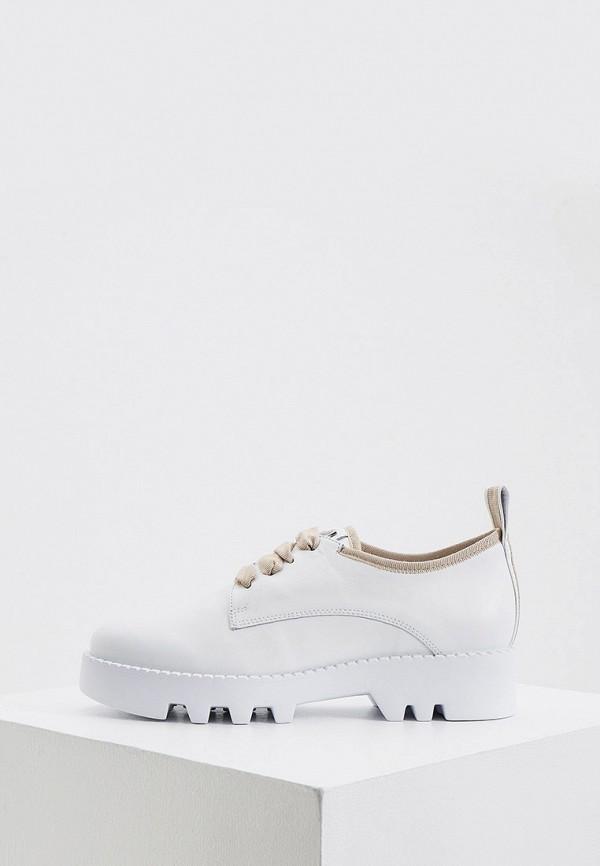 женские низкие ботинки hogl, белые