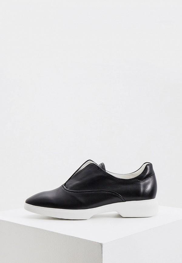женские низкие ботинки hogl, черные