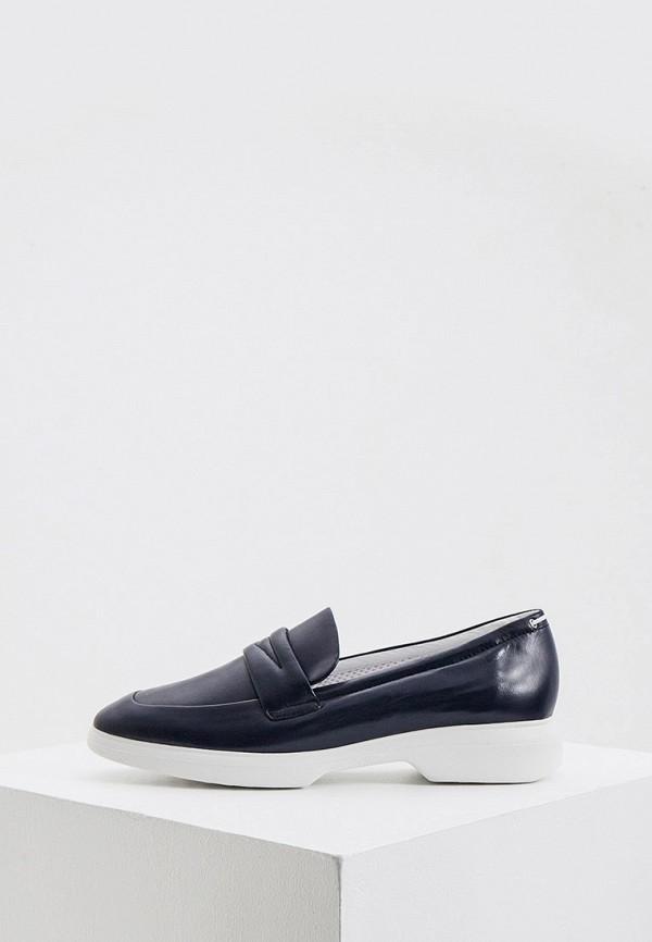 женские низкие ботинки hogl, синие
