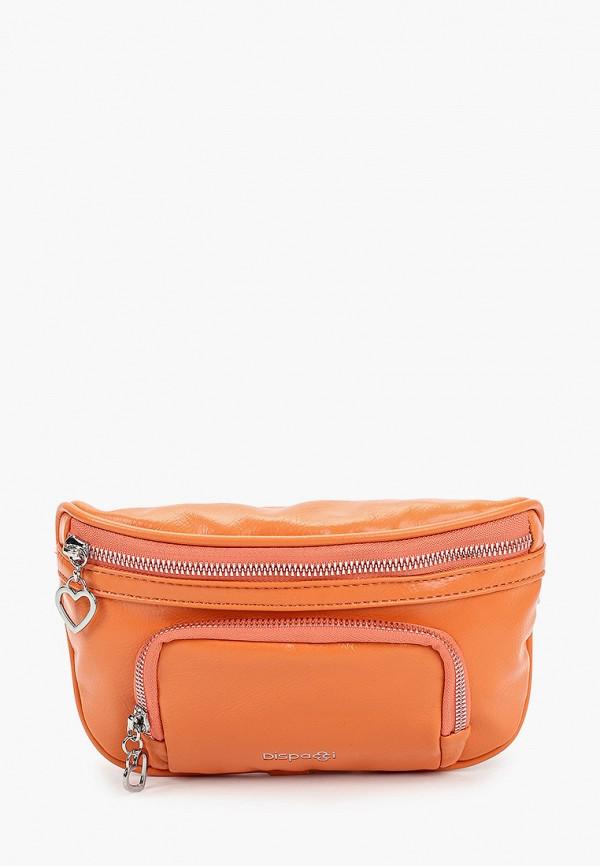 женская поясные сумка dispacci, оранжевая