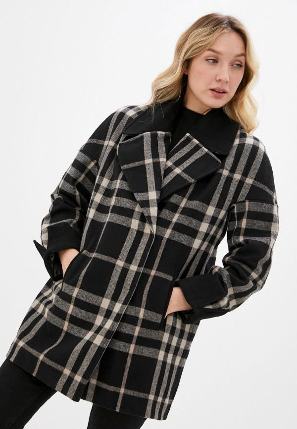 женское пальто jan bidi, черное