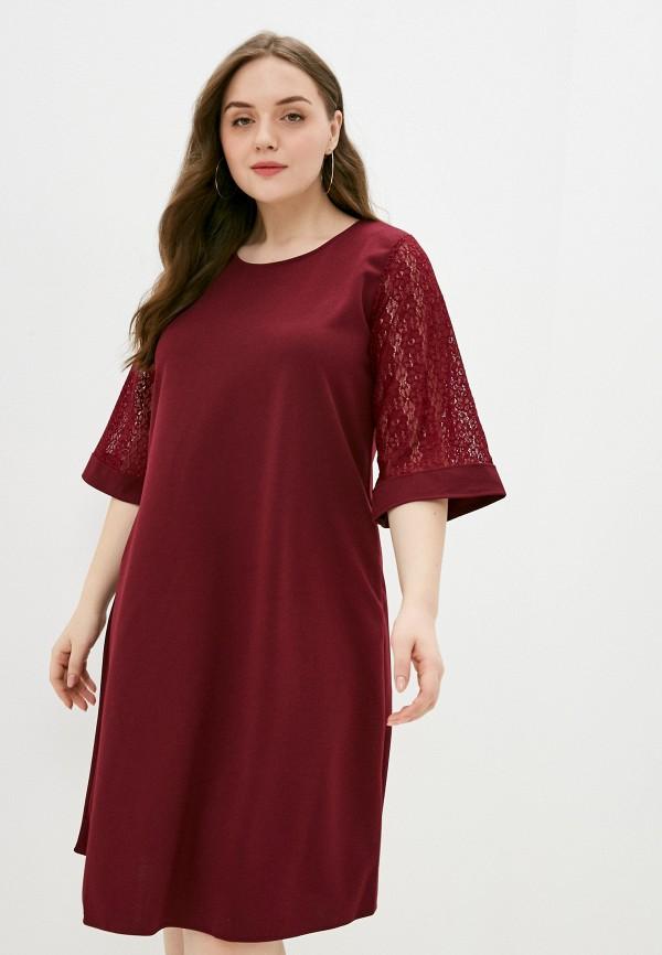 женское повседневные платье sparada, бордовое