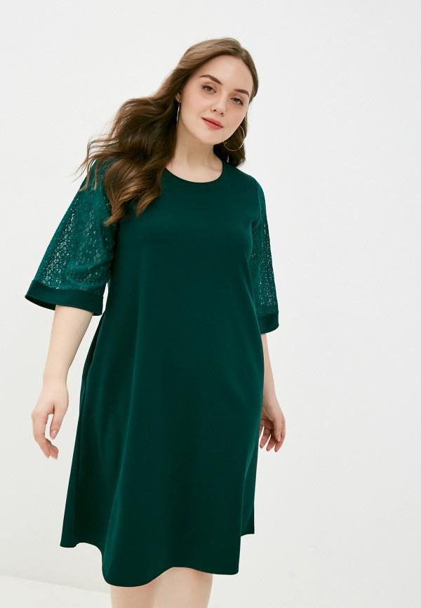 женское повседневные платье sparada, зеленое