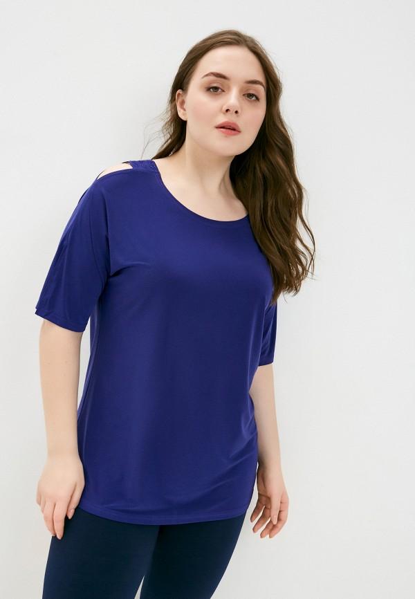 женская футболка sparada, синяя