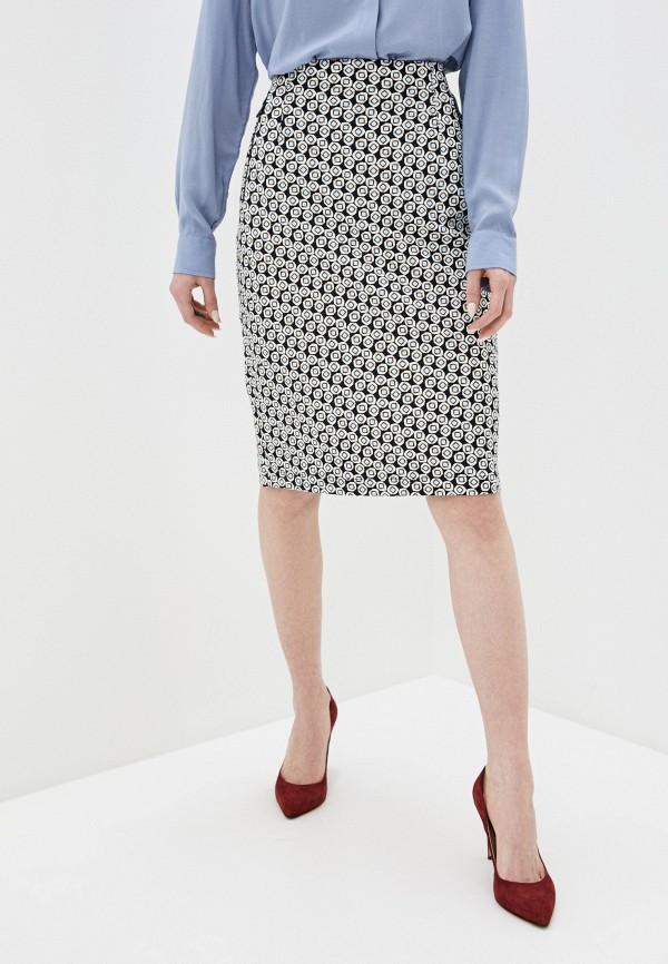 женская прямые юбка gerry weber, разноцветная