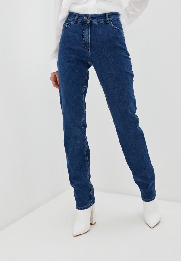 женские прямые джинсы gerry weber, синие