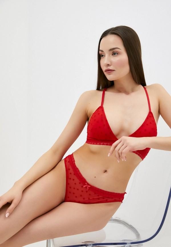женский бюстгальтер без косточек defacto, красный