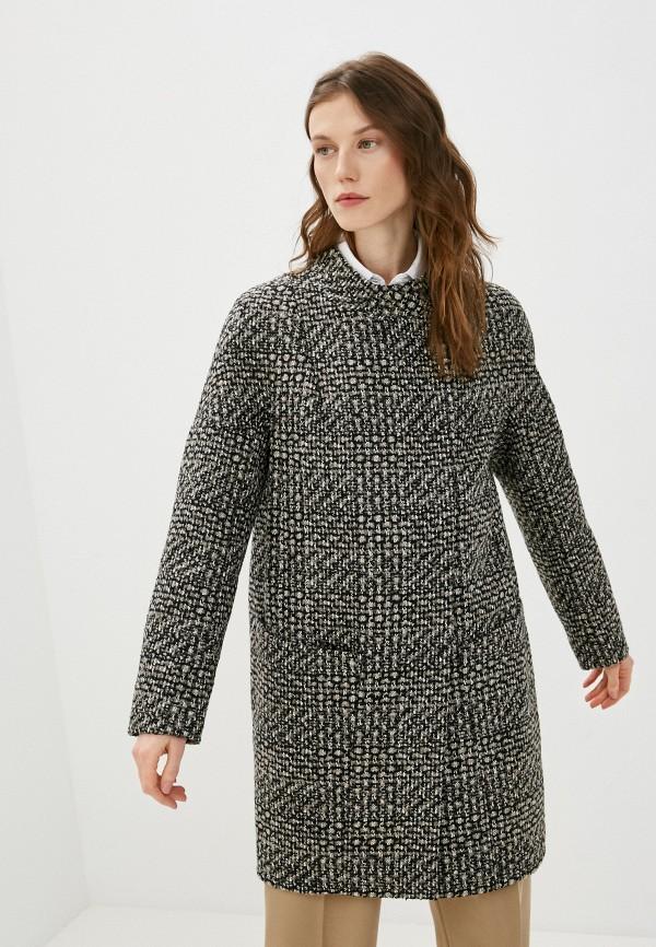 женское пальто paradox, коричневое