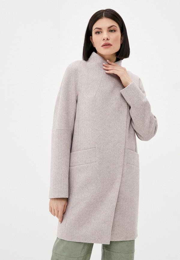 женское пальто paradox, розовое
