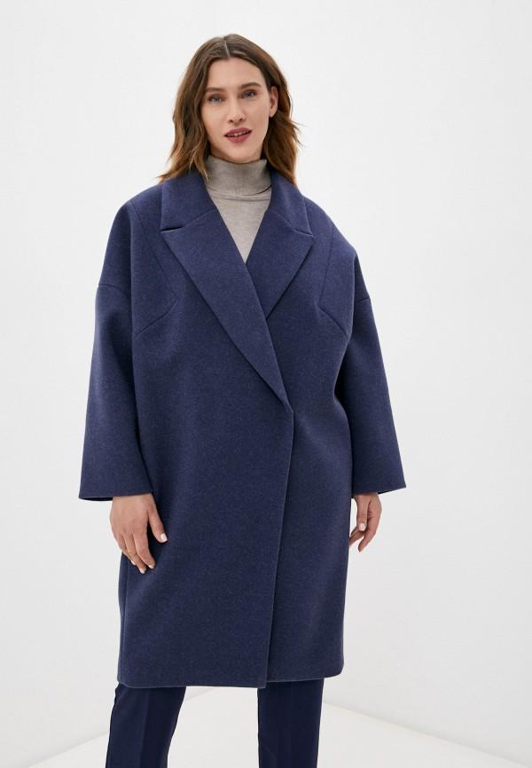 женское пальто paradox, синее