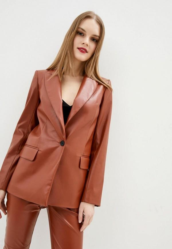 женский пиджак jhiva, коричневый