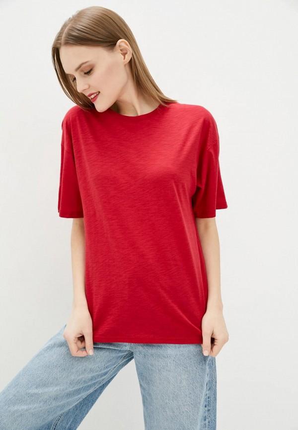 женская футболка jhiva, красная