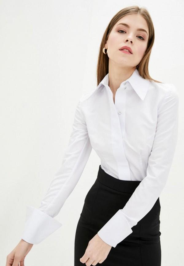 женская рубашка с длинным рукавом vintages, белая