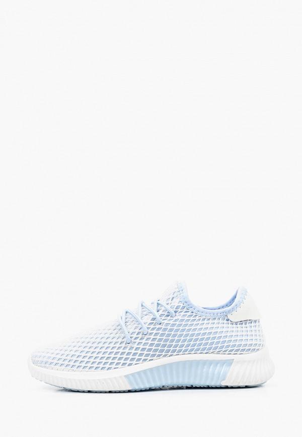 женские низкие кроссовки nobbaro, голубые