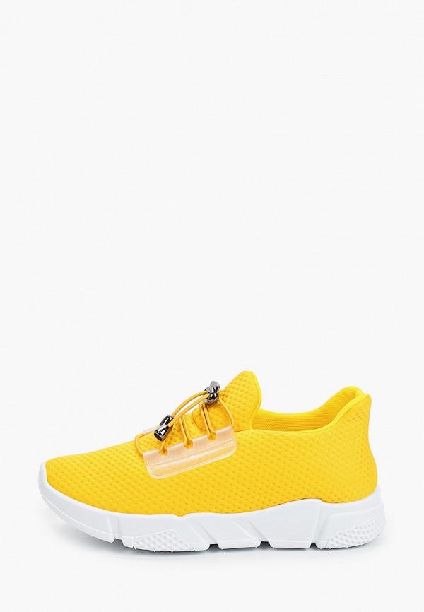 женские низкие кроссовки nobbaro, желтые