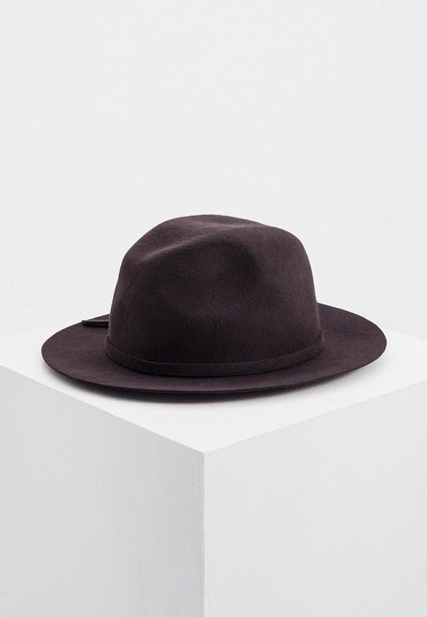 женская шляпа falconeri, коричневая