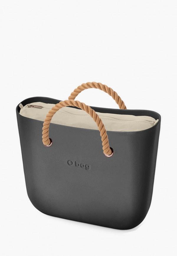женская сумка o bag, серая