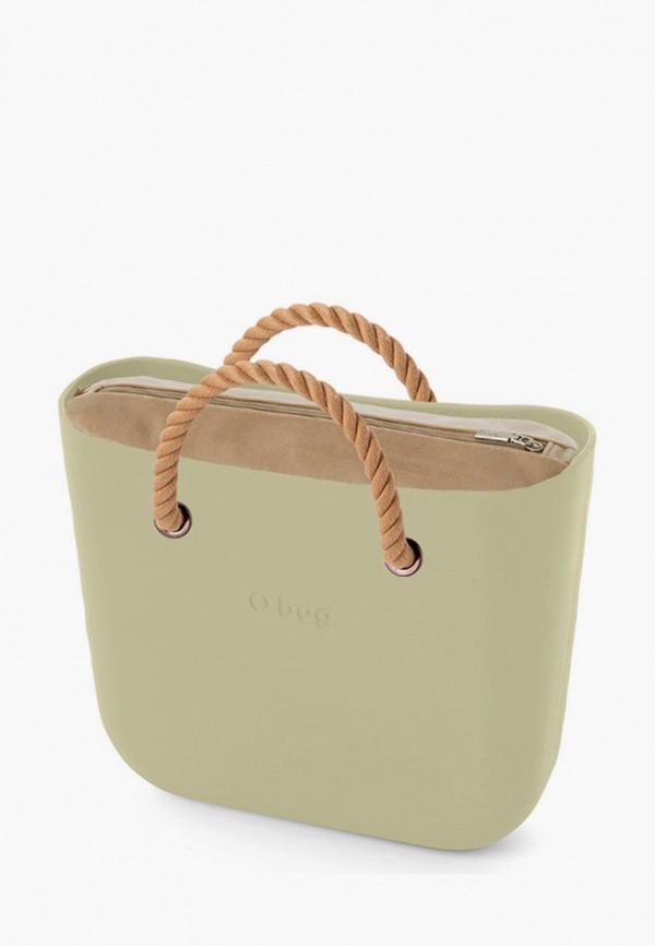 женская сумка o bag, зеленая