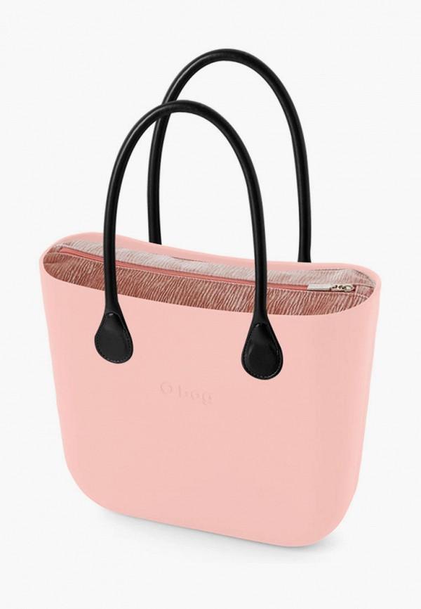 женская сумка o bag, розовая