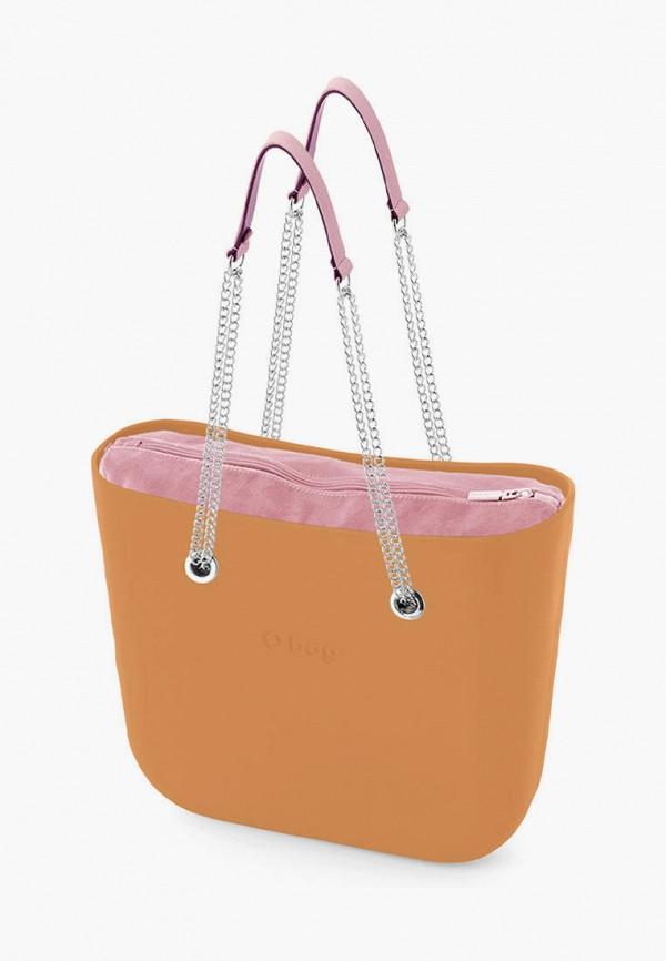 женская сумка o bag, коричневая