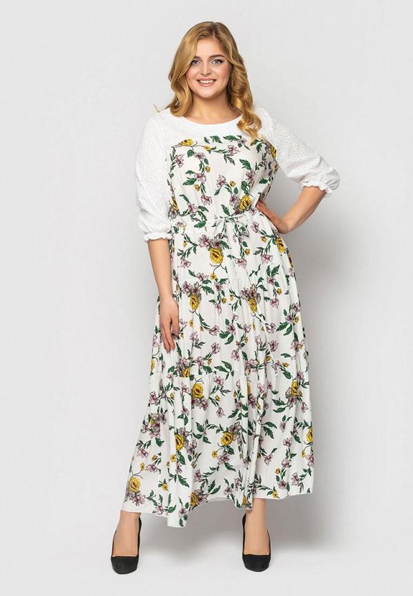 женское повседневные платье vlavi, белое