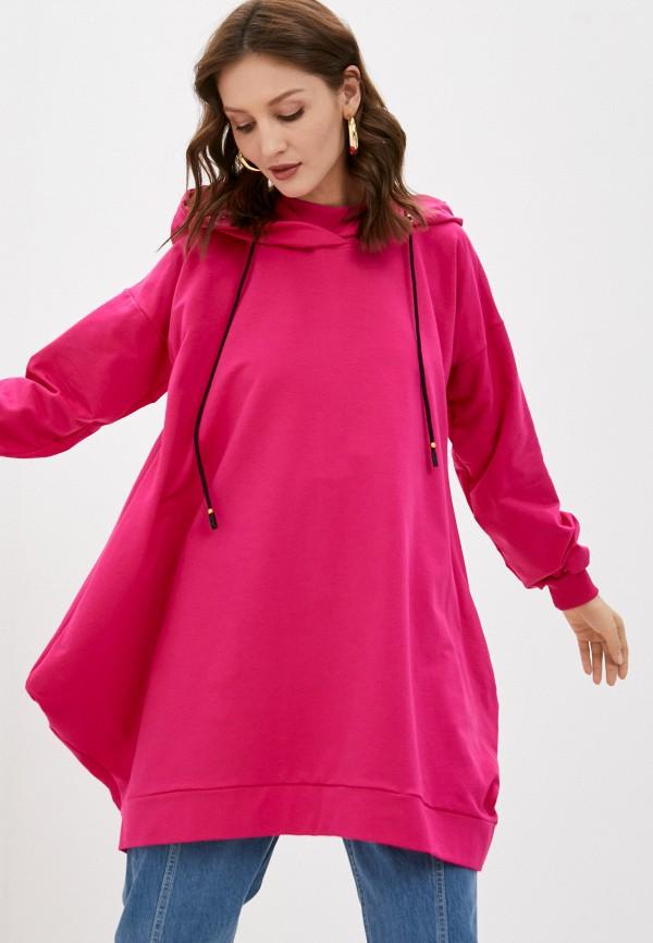 женские худи jenks, розовые