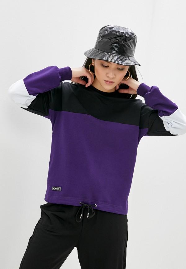 женский свитшот jenks, фиолетовый