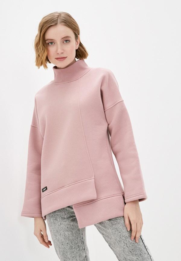женский свитшот jenks, розовый