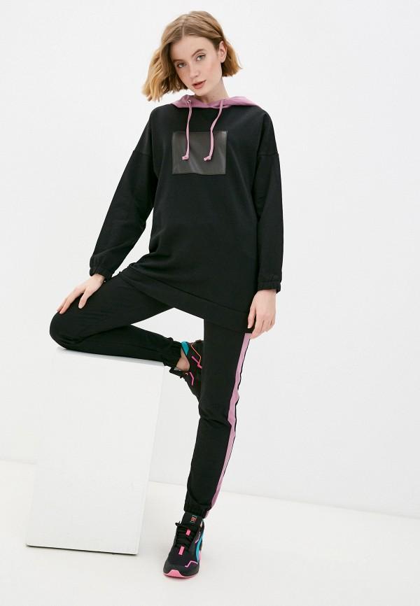 женский спортивный костюм jenks, черный