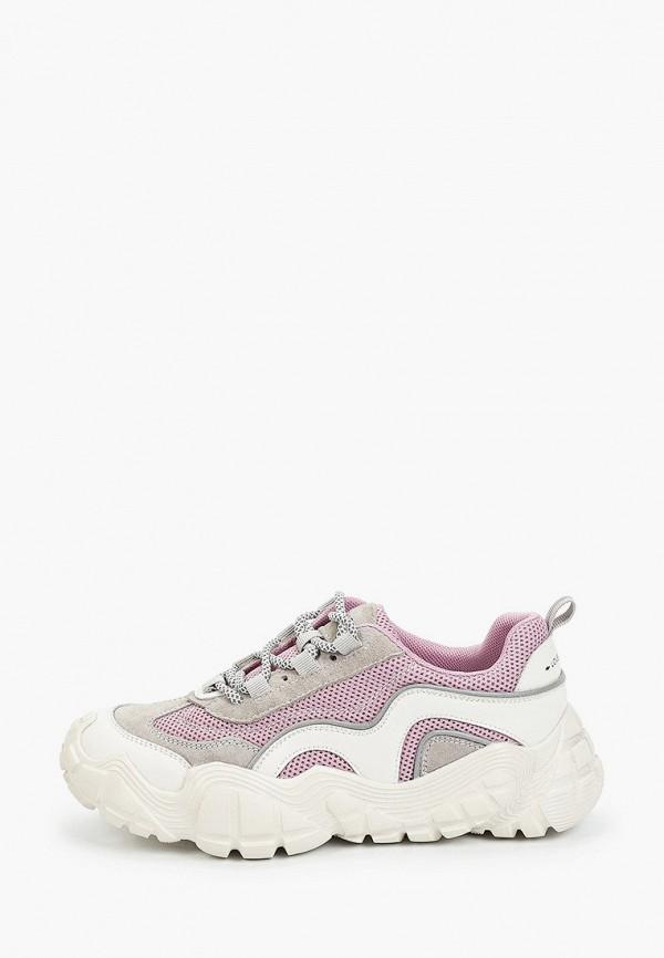 женские низкие кроссовки sprincway, фиолетовые