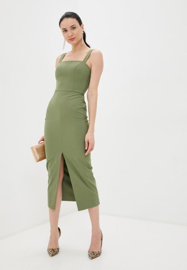 женское платье-футляр ruxara, хаки
