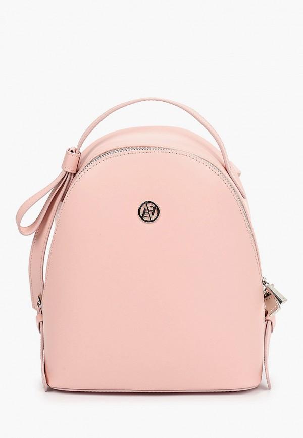 женский рюкзак afina, розовый