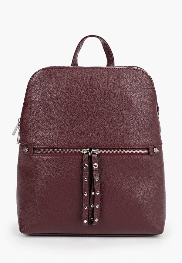 женский рюкзак afina, бордовый