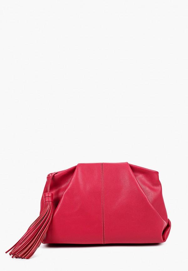женская сумка через плечо afina, розовая