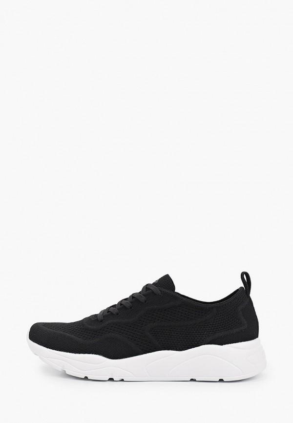 женские низкие кроссовки demix, черные