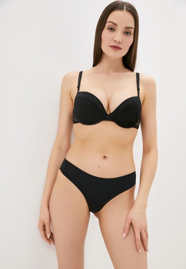 женский бюстгальтер push-up infinity lingerie, черный