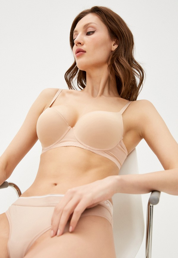 женский бюстгальтер push-up infinity lingerie, бежевый