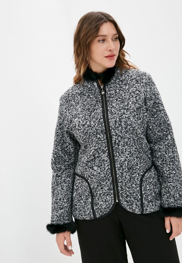 женское пальто milanika, серое