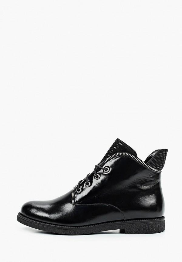 женские высокие ботинки enzo logana, черные