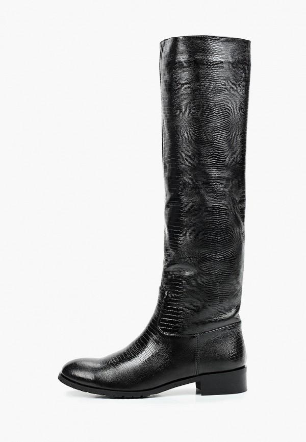 женские ботфорты enzo logana, черные