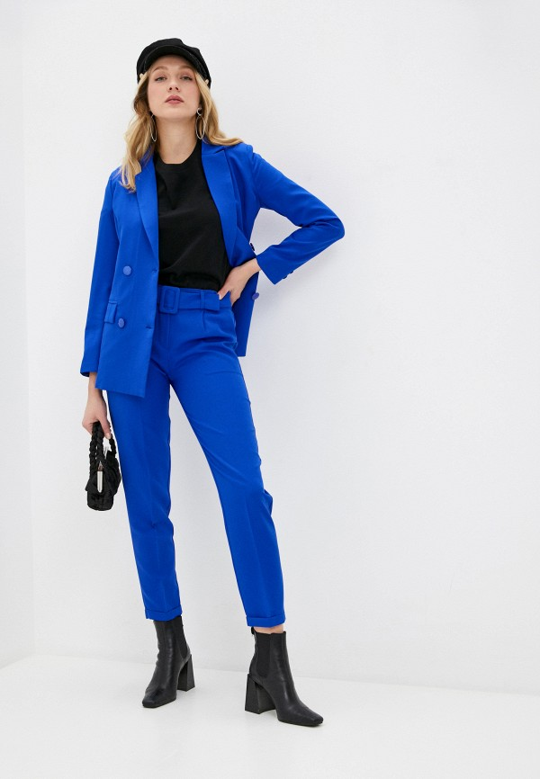 женский костюм elardis, синий